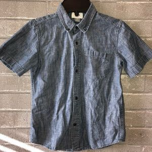 Denim shirt sleeve button up- Old Navy Gently Used